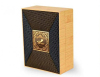 Custom Eco-Friendly Square Wood Texture Rigid Cardboard Perfume Box