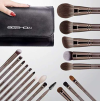 MAGICIAN SERIES - 18 COMPLETE BRUSH KIT - LUCKY COFFEE 3
