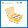 Custom printed corrugated cosmetic packaging box and insert