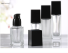 20ml 30ml 40ml Clear Frosted Glass Lotion Pump bottle