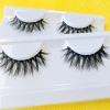 Synthetic(Faux Mink) Customer Package Natural Black 3D Strip Eyelash
