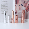 Jinze round shape special design rose gold and silver color lipstick tube container 11.1mm