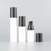 PP round shape airless lotion bottle