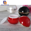 Square Acryllic Plastic Eye Cream Jar mini empty jar Container