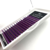 OEM Service Individual colored C curl 0.07mm 0.10mm bottom Lashes Ombre Colored Eyelash Extensions