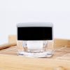 5g square cosmetic cream small acrylic gel color container gel polish double wall plastic jar for cosmetics