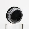 3g clear plastic nail gel glitter powder container black empty mini loose eyeshadow jar