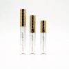 Gold lid empty container lip gloss tube with brush applicator 2ml luxury 2020 wholesale wand tubes lip gloss container tube