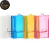 50 ml fashion women use special dotted finish pink blue white yellow colored glass bottle for perfume