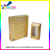 Custom Golden Cosmetic Set Packaging Cardboard Paper Gift Box